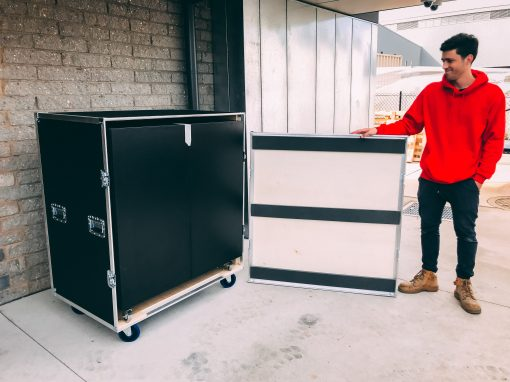 Large Equipment Case: Pop-Up Stall